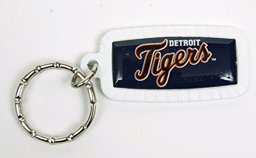 Detroit Tigers MLB Keychain & Keyring - Rectangle