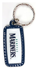 Seattle Mariners MLB Keychain & Keyring - Rectangle