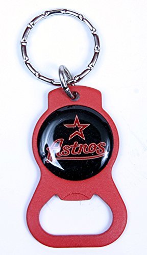 Houston Astros MLB Keychain & Keyring - Bottle Opener - Red