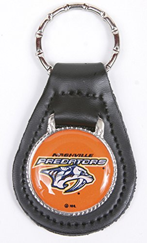 Nashville Predators NHL Keychain & Keyring - Leather