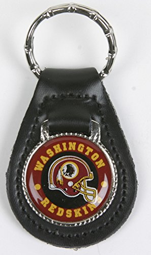 Washington Redskins NFL Keychain & Keyring - Leather