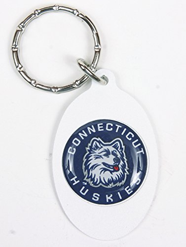 Connecticut Huskies Keychain & Keyring - Oval