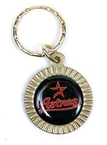 Houston Astros MLB Keychain & Keyring - Circle