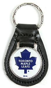 Toronto Maple Leafs NHL Keychain & Keyring - Leather