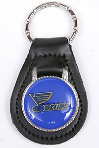St. Louis Blues NHL Keychain & Keyring - Leather