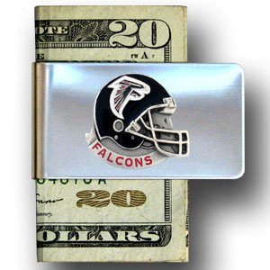 Atlanta Falcons NFL Helmet Money Clip