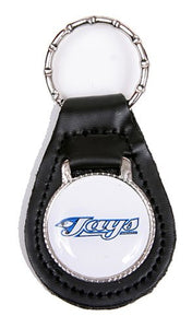 Toronto Blue Jays MLB Keychain & Keyring - Leather