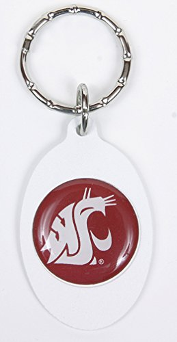 Washington State Cougars Keychain & Keyring - Oval