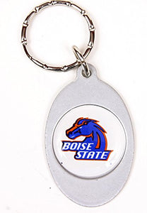 Boise State Broncos Keychain & Keyring - Oval