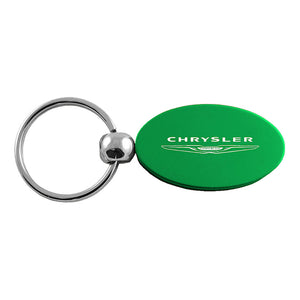 Chrysler Keychain & Keyring - Green Oval