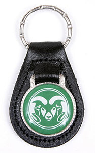 Colorado State Rams Keychain & Keyring - Leather