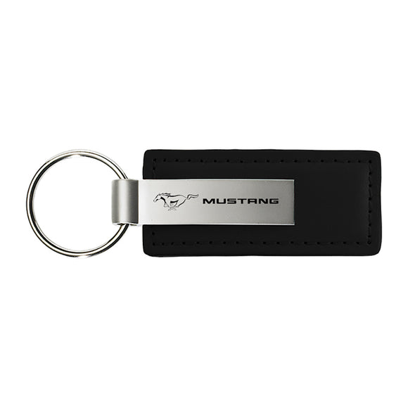 Ford Mustang Keychain & Keyring - Premium Leather