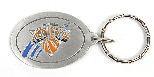 New York Knicks NBA Keychain & Keyring - Pewter