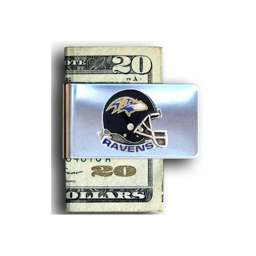 Baltimore Ravens NFL Helmet Money Clip