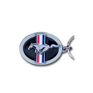 Ford Mustang Keychain & Keyring - Oval