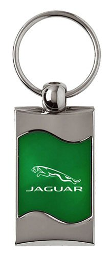 Jaguar Keychain & Keyring - Green Wave