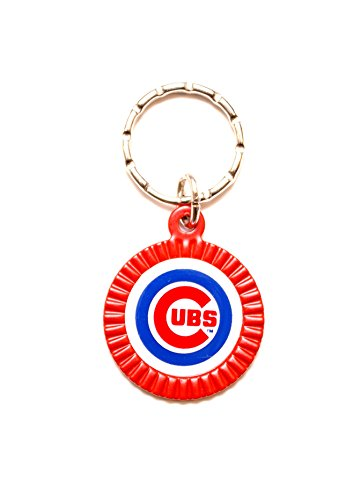 Chicago Cubs MLB Keychain & Keyring - Circle