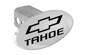 Chevy Tahoe 2012 - 2016 Bowtie Chrome Plated Metal Trailer Hitch Cover Plug