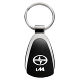 Scion iM Keychain & Keyring - Black Teardrop