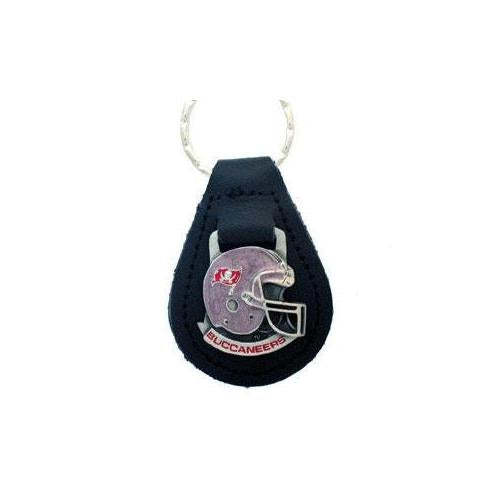 Tampa Bay Buccaneers NFL Keychain & Keyring - Leather