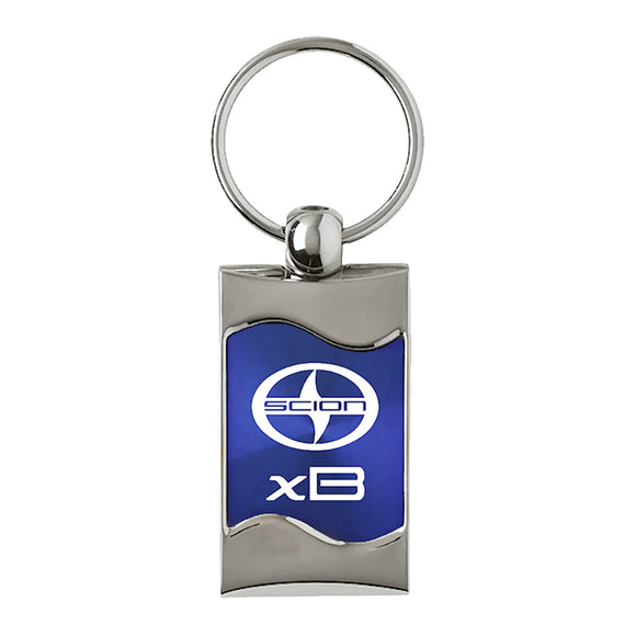 Scion xB Keychain & Keyring - Blue Wave