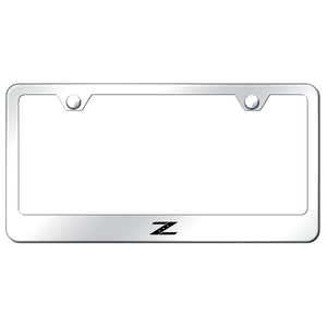 Nissan Z Mirrored License Plate Frame