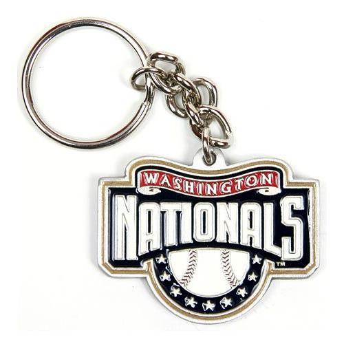 Washington Nationals MLB Keychain & Keyring - Pewter
