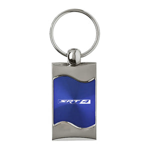 Dodge SRT-4 Keychain & Keyring - Blue Wave