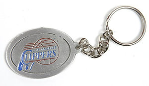 Los Angeles Clippers NBA Keychain & Keyring - Pewter