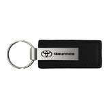 Toyota 4Runner Keychain & Keyring - Premium Black Leather