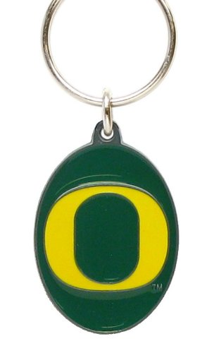 Oregon Ducks Keychain & Keyring - Pewter