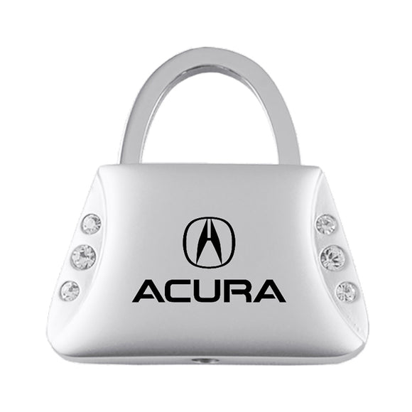 Acura Keychain & Keyring - Purse with Bling