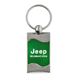 Jeep Rubicon Keychain & Keyring - Green Wave