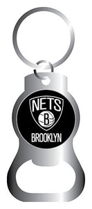 Brooklyn Nets NBA Keychain & Keyring - Bottle Opener