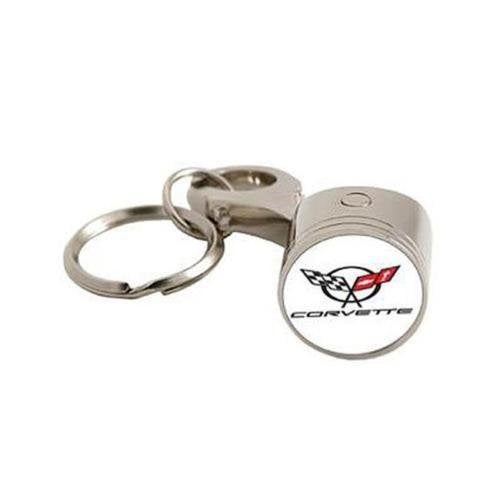 Corvette Piston Keychain and Keyring MH-1012