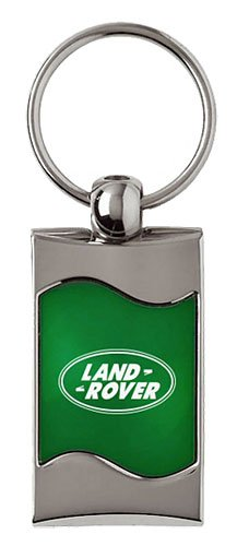 Land Rover Keychain & Keyring - Green Wave