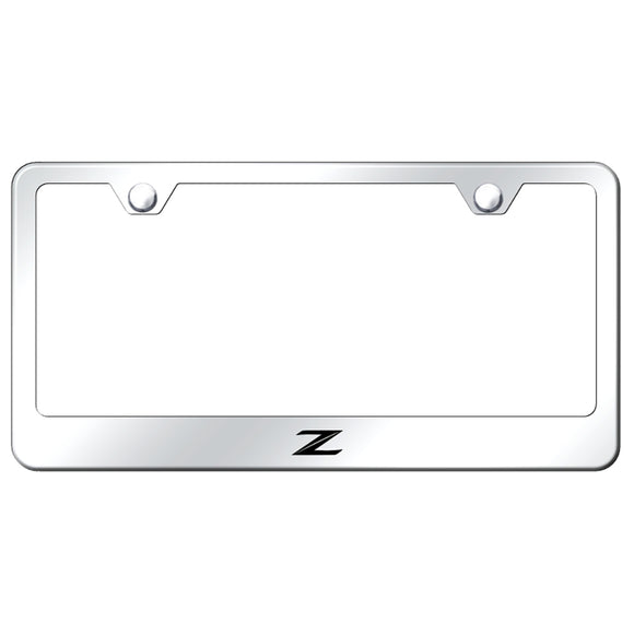 Nissan Z (New) Mirrored License Plate Frame