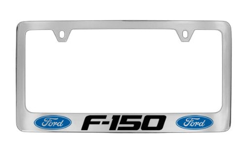 Ford F-150 Chrome Plated Metal License Plate Frame Holder
