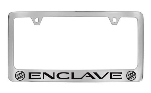Buick Enclave Chrome Plated Metal License Plate Frame Holder