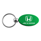 Honda Accord Keychain & Keyring - Green Oval