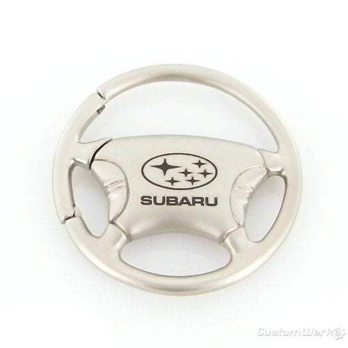 Subaru Steering Wheel Keychain