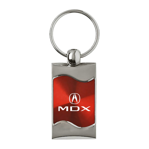 Acura MDX Keychain & Keyring - Red Wave