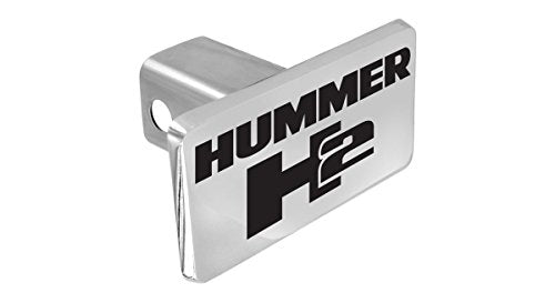 Hummer H2 Emblem Metal Trailer Hitch Cover Plug