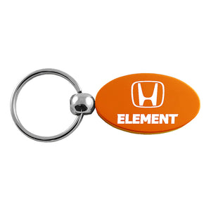 Honda Element Keychain & Keyring - Orange Oval