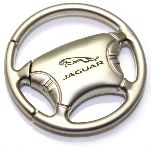 Jaguar Keychain & Keyring - Steering Wheel