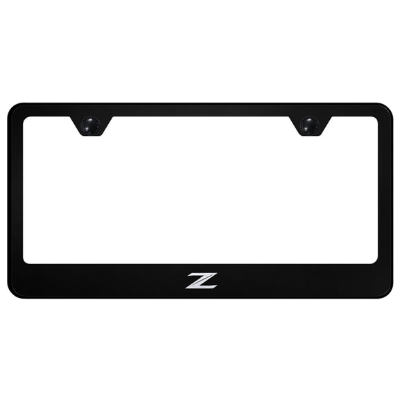 Nissan Z (New) Black License Plate Frame