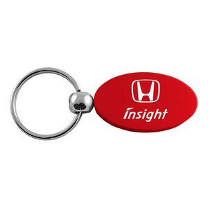 Honda Insight Keychain & Keyring - Red Oval