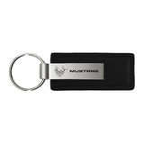 Ford Mustang 45th Anniversary Keychain & Keyring - Premium Leather