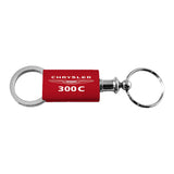 Chrysler 300C Keychain & Keyring - Red Valet