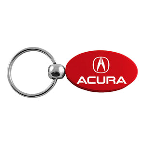 Acura Keychain & Keyring - Red Oval